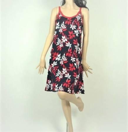 Sukienka Plażowa Bawełna GAŁĄZKI MARINE M