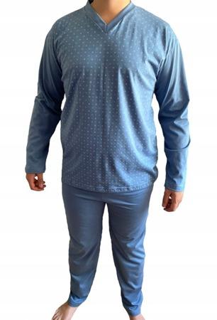 piżama męska ARNOLD - JASNY DENIM 3XL-5XL