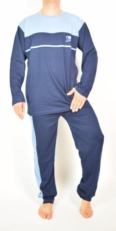 piżama męska BELLO GRANAT/NIEBIESKI S-XXL (44-60)