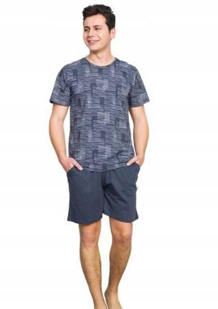 piżama męska GRAFIT 1XL-4XL