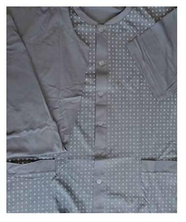 piżama męska WITEK - POPIEL M-5XL